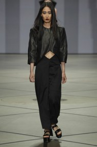 Anne de Grijff at Amsterdam Fashion Week, July 15, 2013 (photo by Peter Stigter)