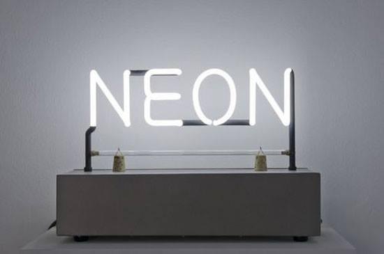 NEON, Joseph Kosuth, 1965.