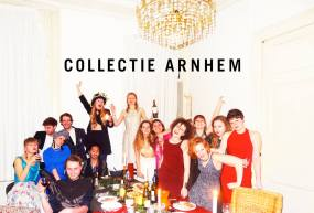 "For the first time Collectie Arnhem (2014) gave themselves ""face"". ""We would like to thank all of you for your support and wish you the most wonderful Christmas and 2014!"""