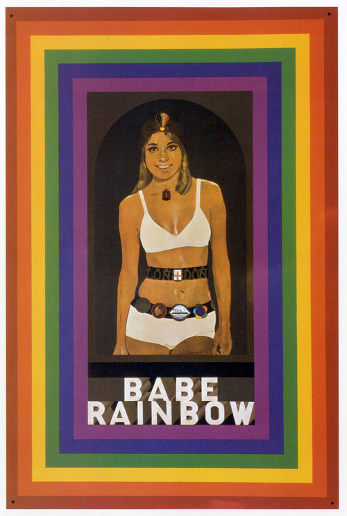 Babe Rainbow by Peter Blake