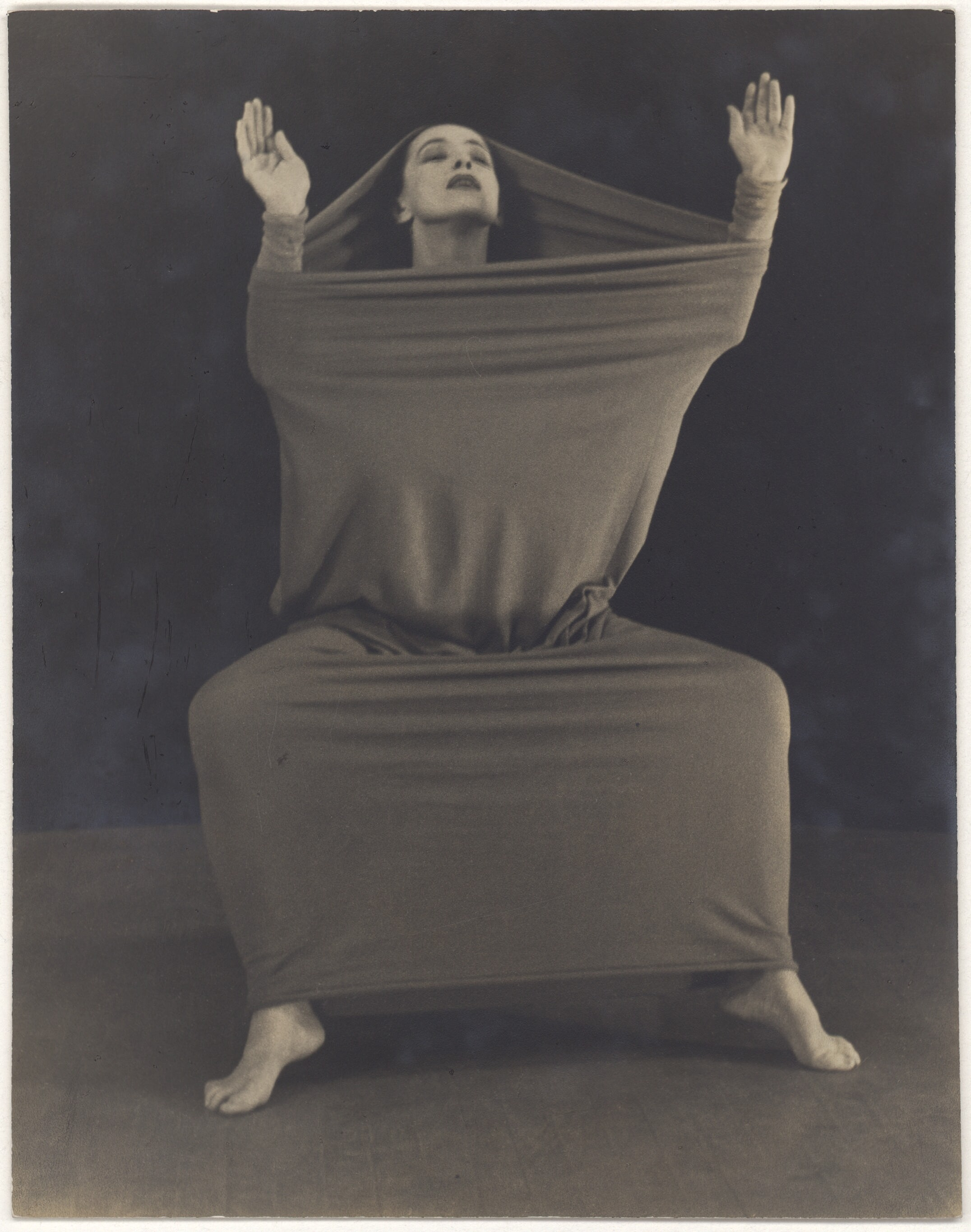 Martha Graham in Lamentation