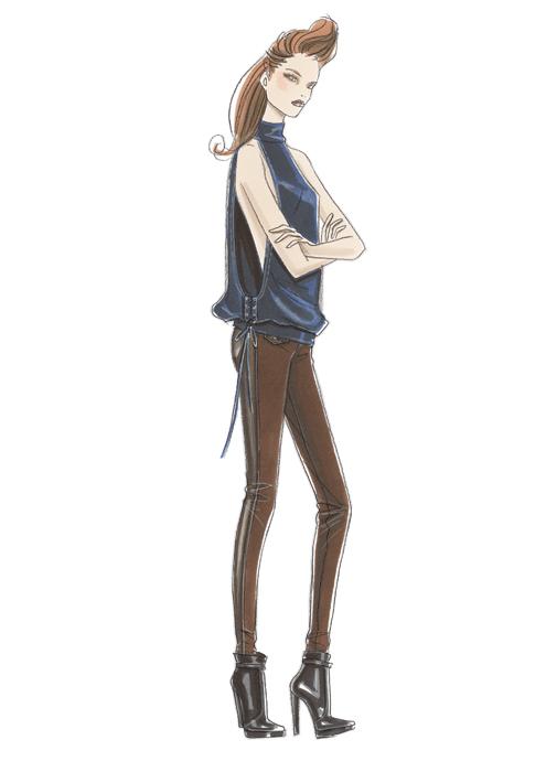 Fashion Illustration by Linda Reinders