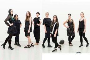 ArtEz Institute of the arts graduation groups 2014; Master Fashion Design. (photography /montage by JW Kaldenbach & Mimi Berlin)
