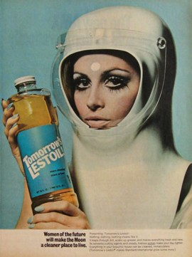 Lestoil Cleanser Space-age advertisements