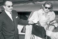 Princess Grazia/Gtace Kelly with her Kelly Bag by Hermès (photographer unknown)