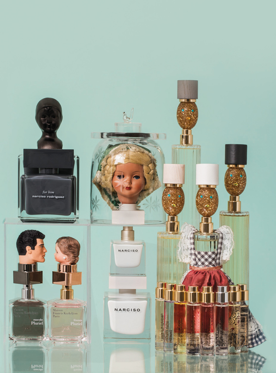 Von Trapp Family. Mimi Berlin and JW Kaldenbach for Harper's Bazaar NL, BeautyBazaar, issue #3