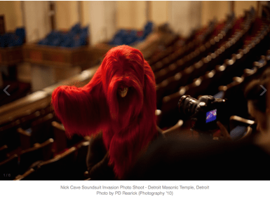 pop-up photo shoots. photocredits; PD Rearick/Cranbrook Art Museum