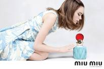 first fragrance via Miu Miu Facebook
