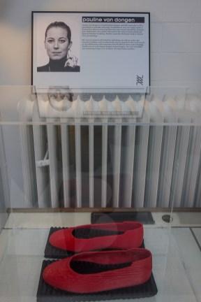 Pauline van Dongen 3-d printed shoes (SLEM Waalwijk)
