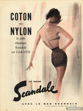 scandale, 1958