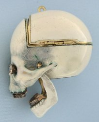 Memento Mori Antique with Pocket Watches