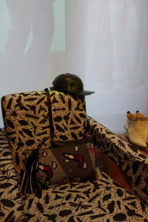 Chair; Studio Job, shoes; Eijk-Amsterdam.