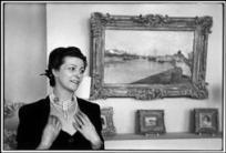 FRANCE. 1945.Ê The French author, Louise de VILMORIN. Louise de VILMORIN, Žcrivain franais.