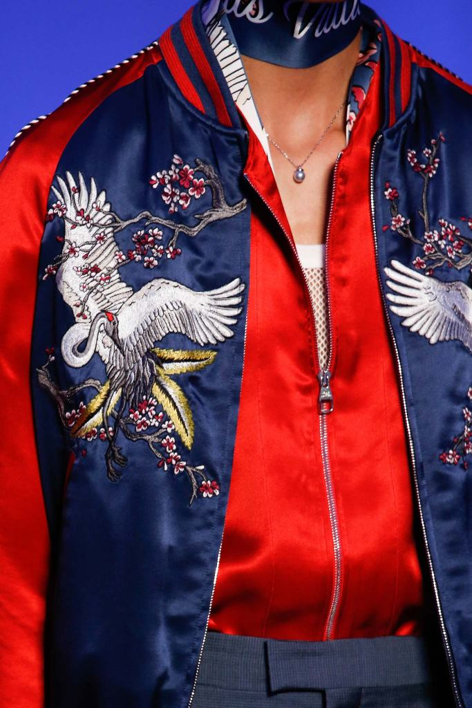 Silk Satin Bomber Jacket