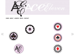 graphics by Appdikted for Ace Eleven Lingerie