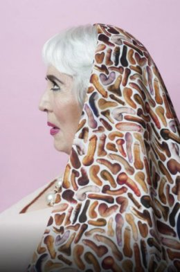 xaviera hollander wearing bas kosters. photo by Imke Panhuijsen