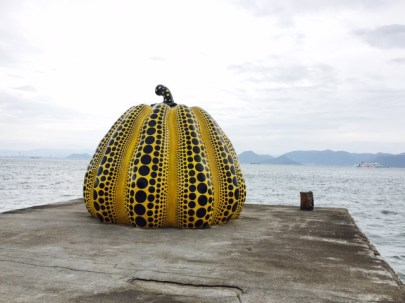 Yellow Dots in Naoshima