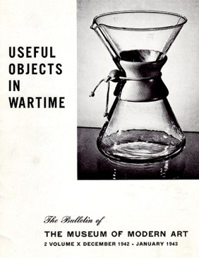 """1942 MoMA brochure """"Useful Objects in Wartime"""""""