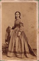 Olive Oatman, carte de visite, circa 1863Carte de Visite of Olive Oatman 1838–1903, by Benjamin F. Powelson (1823–1885)