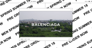 A Walk in The Park with Balenciaga