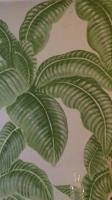 Detail of 'palm leaf' mural by Machteld Schouten.