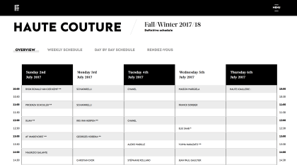 RVDK showing at Couture Week Paris