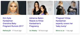 OMG 4 |four| Kardashian Women are P