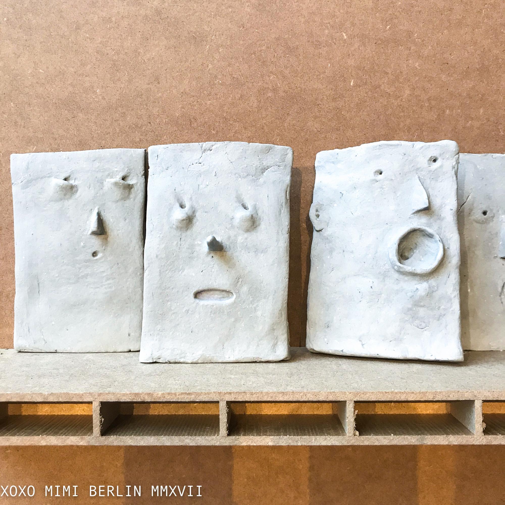 petrified expressions by Roosje van Domselaar at Post Modern