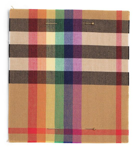 Christopher Bailey Burberry Rainbow Check