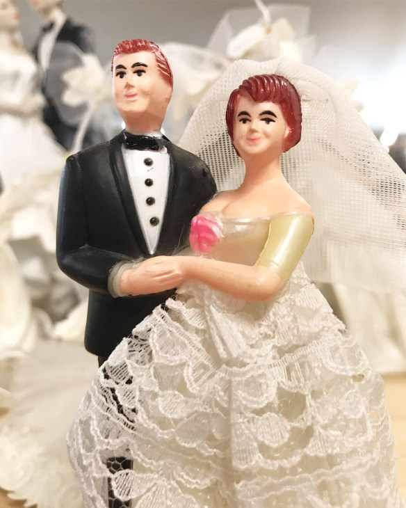 caketoppers bridal vintage