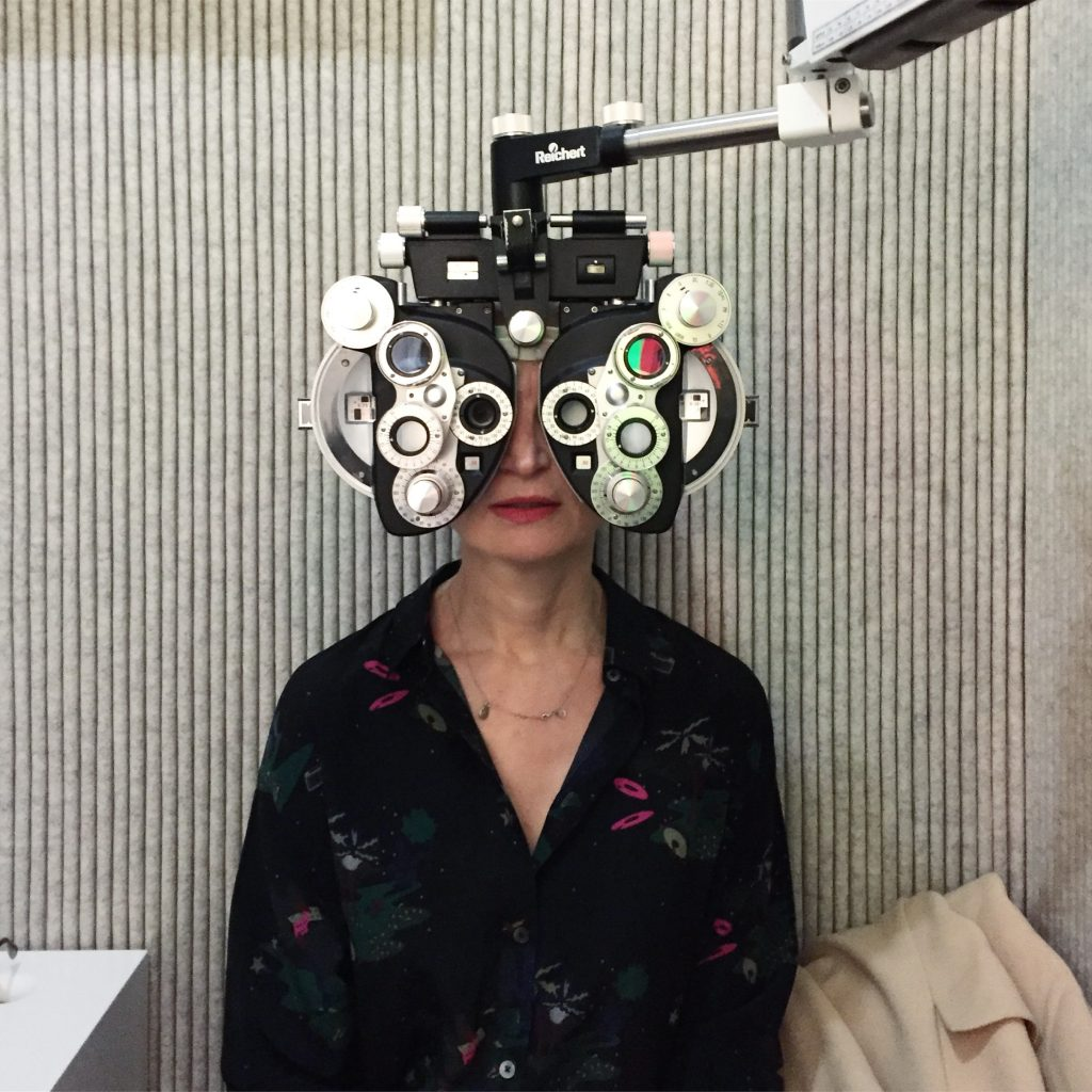 Meanwhile at the Optician