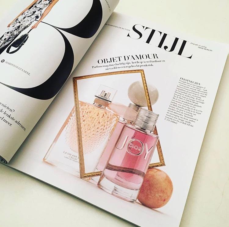 Perfume Stories Mimi Berlin Harper's Bazaar NL