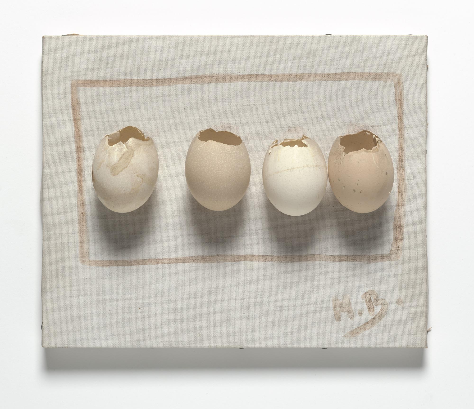 Oeufs / Eggs Marcel Broodthaers