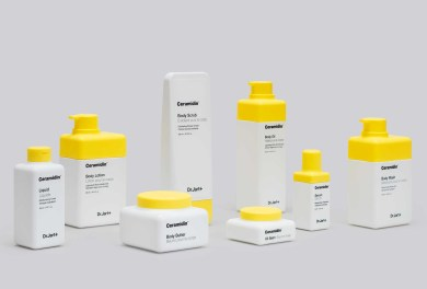 Pentagram Designs for Dr.Jart+ skincare