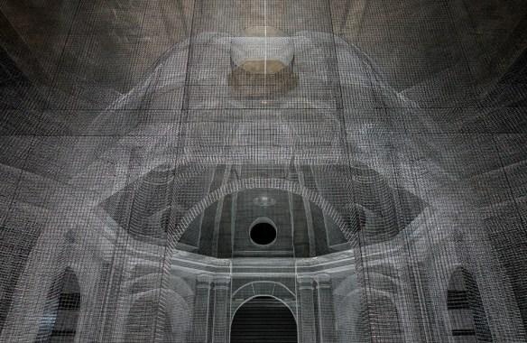 Edoardo Tresoldi's Mesh Buildings