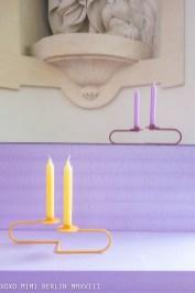 'Karlo' candelabra by Diiis design