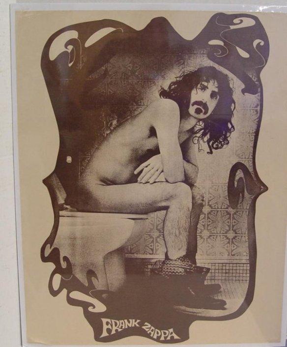 Phi Zappa Crappa Toilet Poster