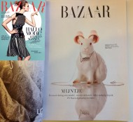 Mimi Berlin's statuettes in Harper's Bazaar NL, issue #3 Dec '14/Jan '15