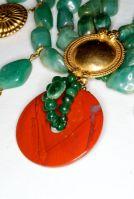An extraordinary late 1980s Loulou de la Falaise for Yves Saint Laurent rive gauche necklace.
