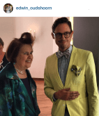 Suzy Menkes on tour in Belgium and The Netherlands