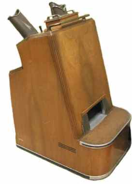 Shoe-Fitting Fluoroscope (ca. 1930-1940) img via www.orau.org