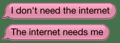 Internet Princess Says: