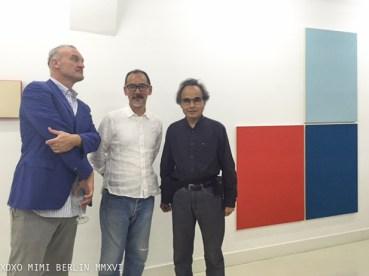 Willem Baars, Akio Igarashi and Takashi Suzuki