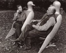 Claude and François-Xavier Lalanne in Tourterelle, 1997