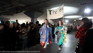 First year students designed the robes for the children/Gerrit Rietveld Academie The Fashion Show 2017