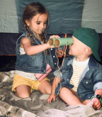 Addi & Max camping 3