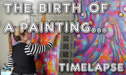 Studio Time 3 – The Birth of a Painting