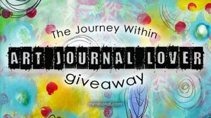 A giveaway for an art journal lover with The Journey Within | Mimi Bondi