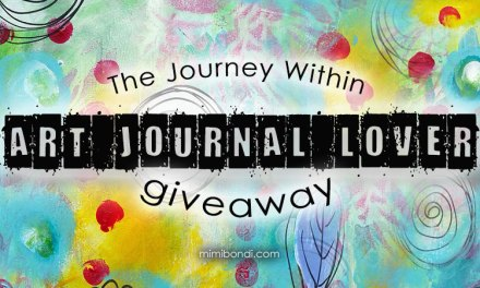 An exclusive giveaway for an art journal lover!