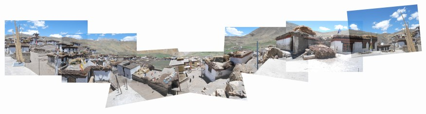 Demul village panorama, Spiti, Northern India